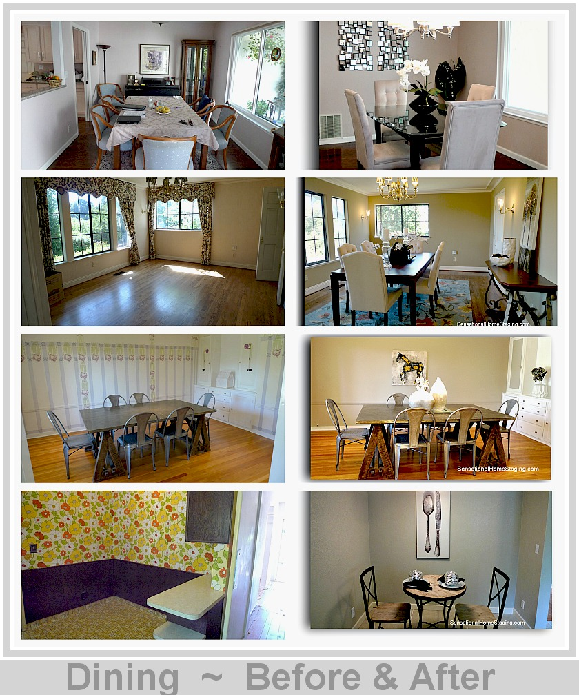 Home Staging Gallery: Dining Room Transformations